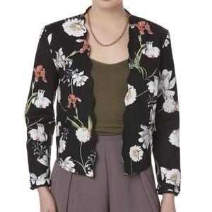 Jackets & Blazers - floral blazer, size Petite XL